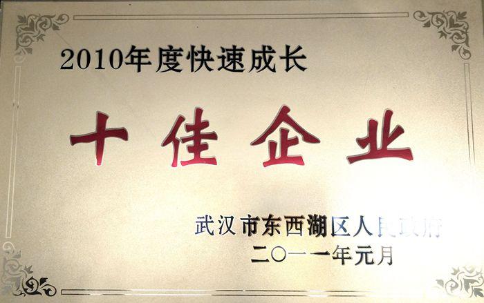 十佳企业(2011.01)